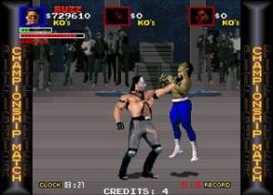 pit fighter digitised fighting mayhem