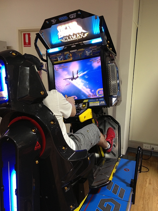 Yours truly enjoying some After Burner Climax