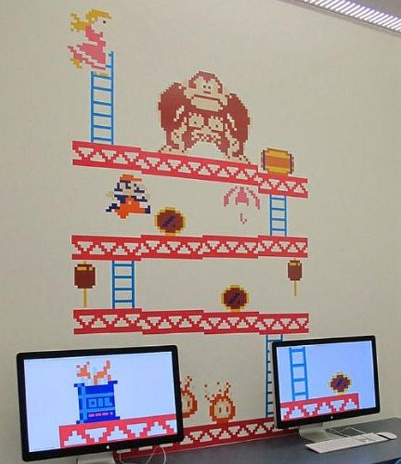Donkey Kong Wall Decal AUSRETROGAMER