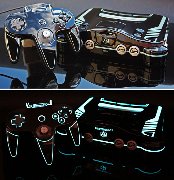 Custom_tron_legacy_themed_n64__by_zoki64