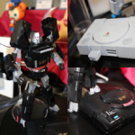 Mega Drive Megatron and Optimus Prime Playstation