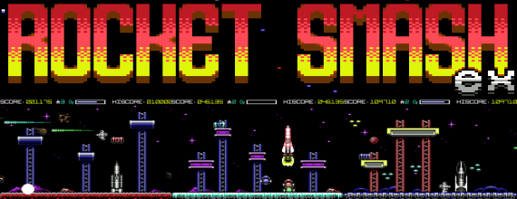 C64 Game Review: Rocket Smash Ex