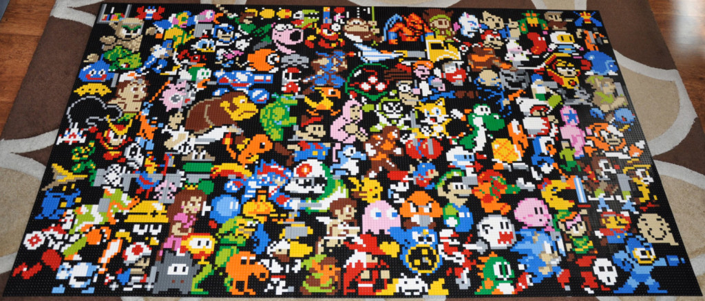5_LEGO mosaic
