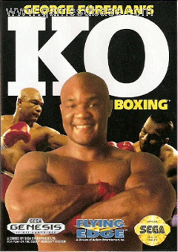AussieMade_MD_George_Foreman-s_KO_Boxing_-_1992_-_Flying_Edge
