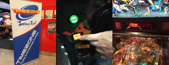 Pinball Antics at Timezone