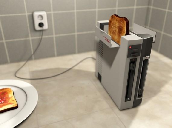 Nintendo Console Toaster