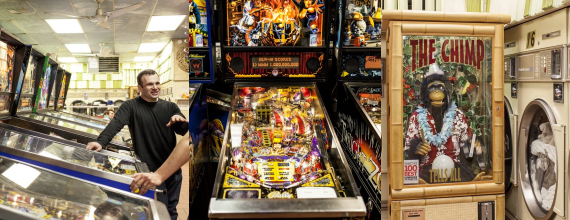 Good Clean Fun: Pinball At The Laundromat