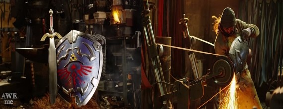'Man at Arms' Makes Link's Hylian Shield