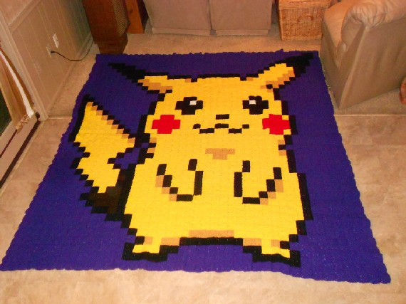 Knitted Pikachu Pattern : Winter Is Coming: 8-Knit Art AUSRETROGAMER