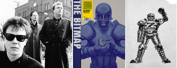 Read-Only Memory announces The Bitmap Brothers: Universe art history book