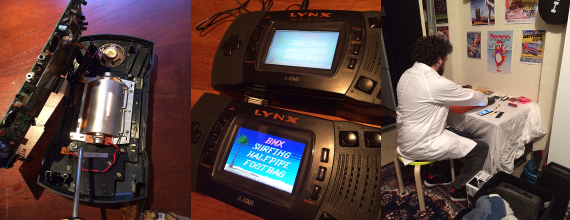 Operation: Atari Lynx LCD Mod