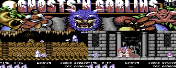 Ghosts'N Goblins Arcade Remastered