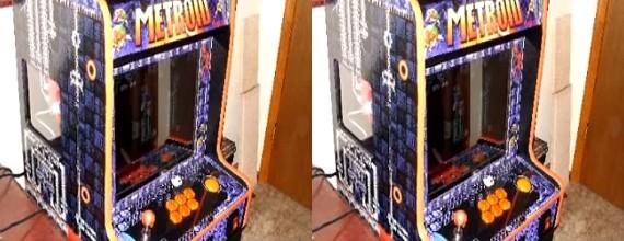 Metroid Bar Top Arcade Machine