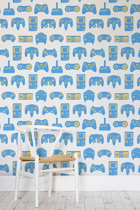 . Retro Gaming Wallpaper Murals   AUSRETROGAMER