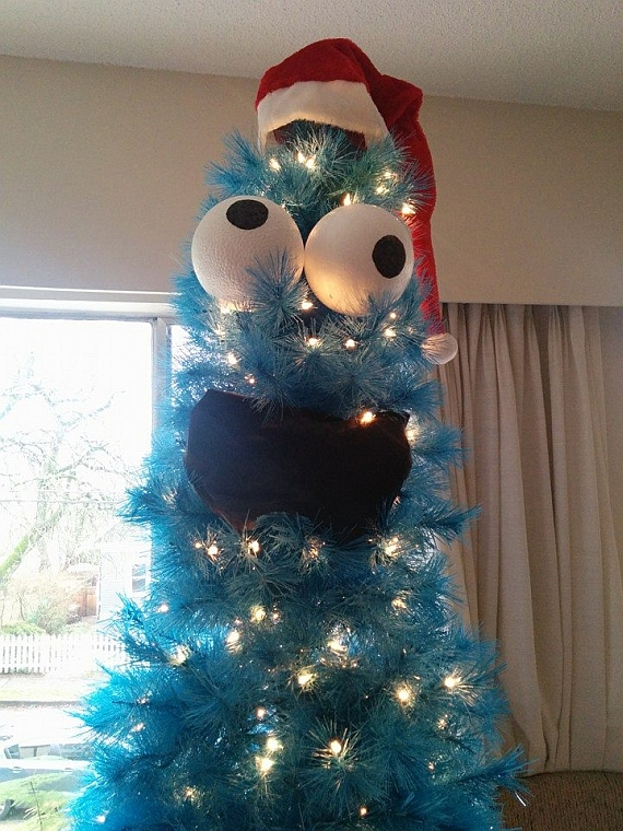 cookie monster tree