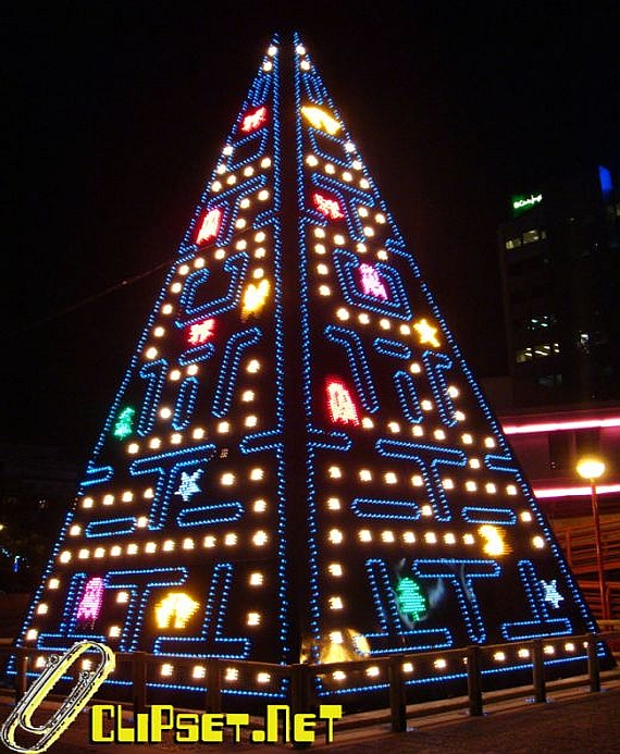 pac-man tree