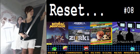 Reset C64 Magazine Issue 8: It's Adventure Time!