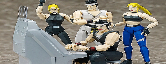 Virtua Fighter Action Figures