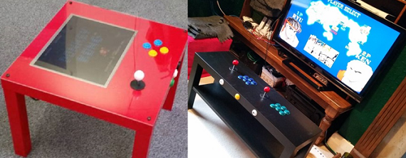 Pik3a raspberry pi 3 ikea cocktail tables ausretrogamer for Ikea cocktail table