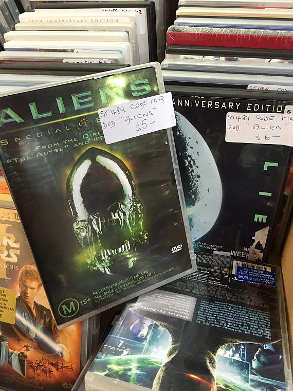 1 Alien DVD