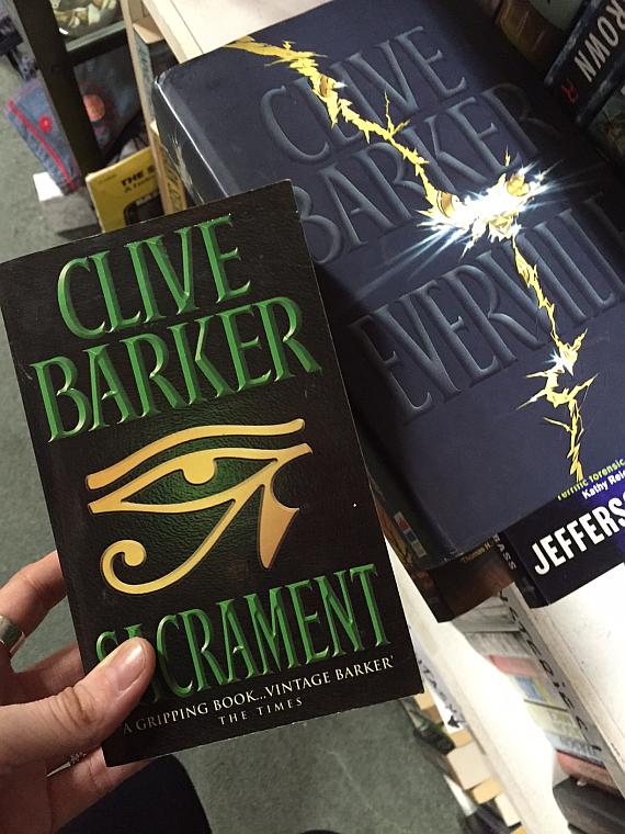 1 Clive Barker