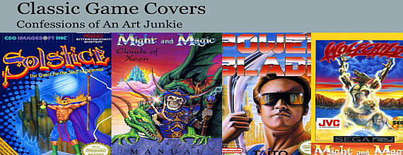 Classic Game Covers – Confessions of An Art Junkie