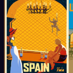 Street Fighter Retro Travel Posters