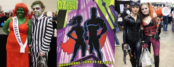 Highlights: Oz Comic-Con Melbourne 2016