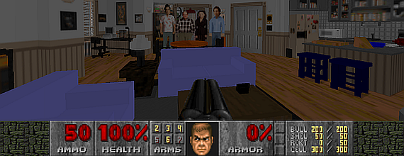 DOOM II: Hell In Jerry's Apartment