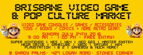 Brisbane Video Game & Pop Culture Market