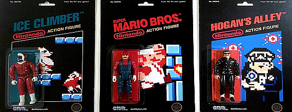 Want: Nintendo-Era Black Box Action Figures!