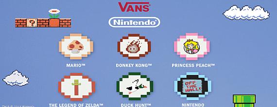 Vans X Nintendo: Powered Up Streetwear