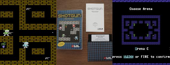 Shotgun: 4-Player Death Match On Your C64