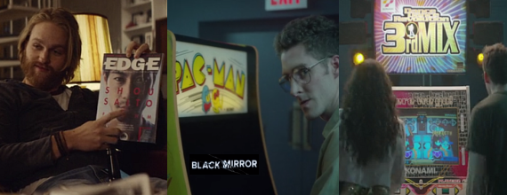 Black Mirror Goes Retro