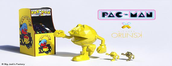 PAC-MAN X ORLINSKI: Perfect Art