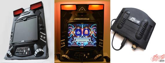 The PC-Engine SD and Sega OMega Drive