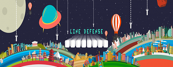 Line Defense: The Mobile Arcade Game That Blends The Past With The Future