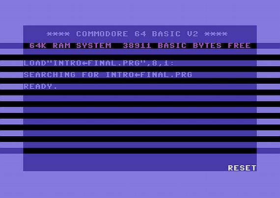 Making Of Reset C64 Intro | AUSRETROGAMER