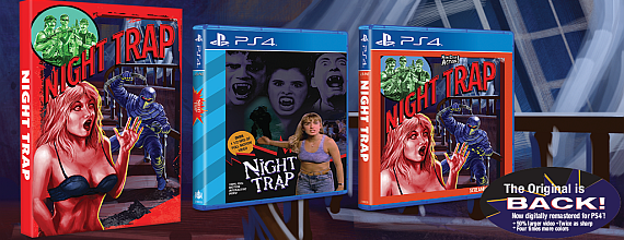 Night Trap: The Cult SEGA CD Classic Returns