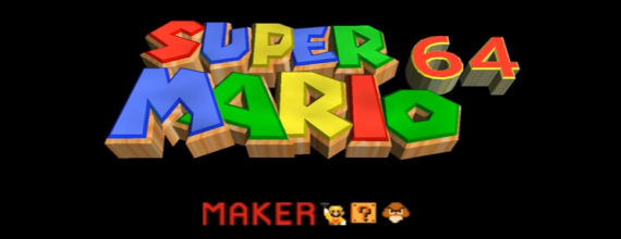 Unofficial Super Mario 64 Maker Released for the N64