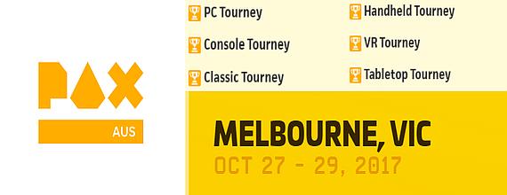 PAX Aus 2017 Tournaments