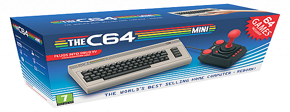 The C64 Mini Is Coming In 2018