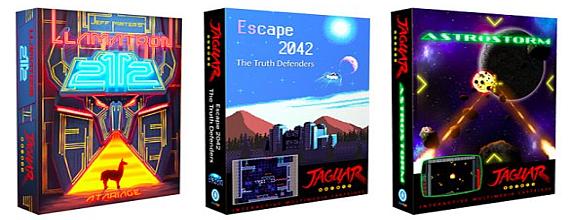 Grab Some New Atari Jaguar and 2600 Games!