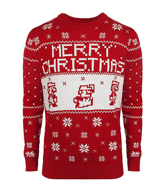 Nerdy Christmas Sweaters.Get Your Geeky Christmas Sweaters On Ausretrogamer