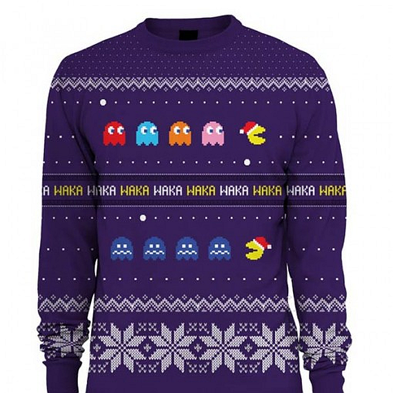 Nerdy Christmas Sweater.Get Your Geeky Christmas Sweaters On Ausretrogamer