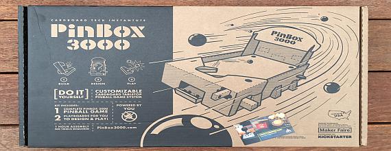 PinBox 3000: Making Of A Pinball Designer
