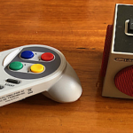 Retro Cube Speaker and the Super GamePad