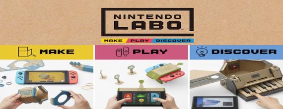 Nintendo Labo: Make, Play, Discover
