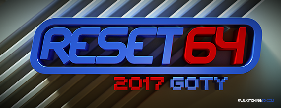 Reset64 Magazine 2017 Commodore 64 Game of the Year Award