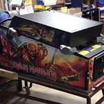 The First Stern Iron Maiden Pinball Machine Is Boxed and Ready for Action!
